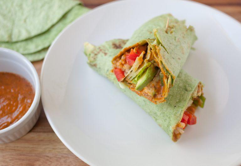 Mustketch Veggie Wrap