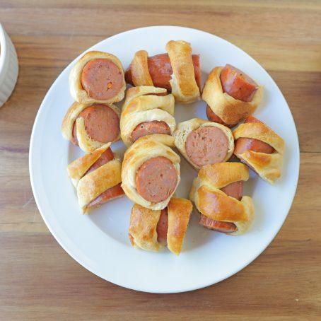 Cajun Sausage Puffs With Mustketch Sauce