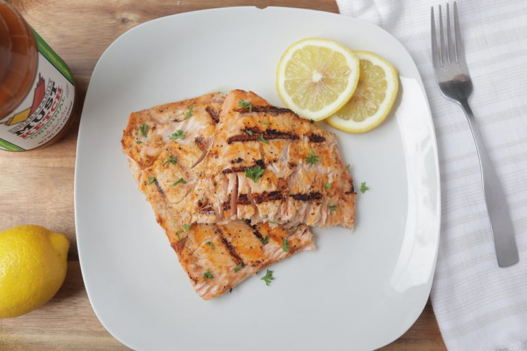 Mustketch Grilled Salmon