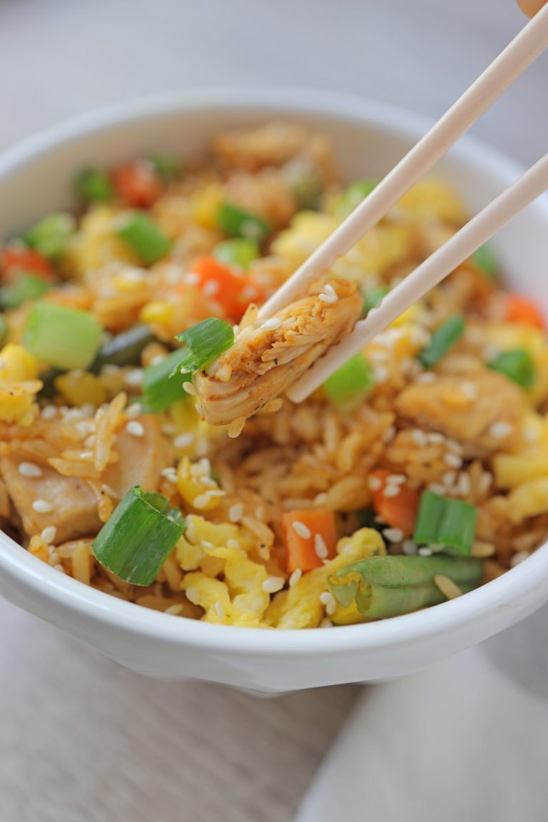 Mustketch Chicken Fried Rice