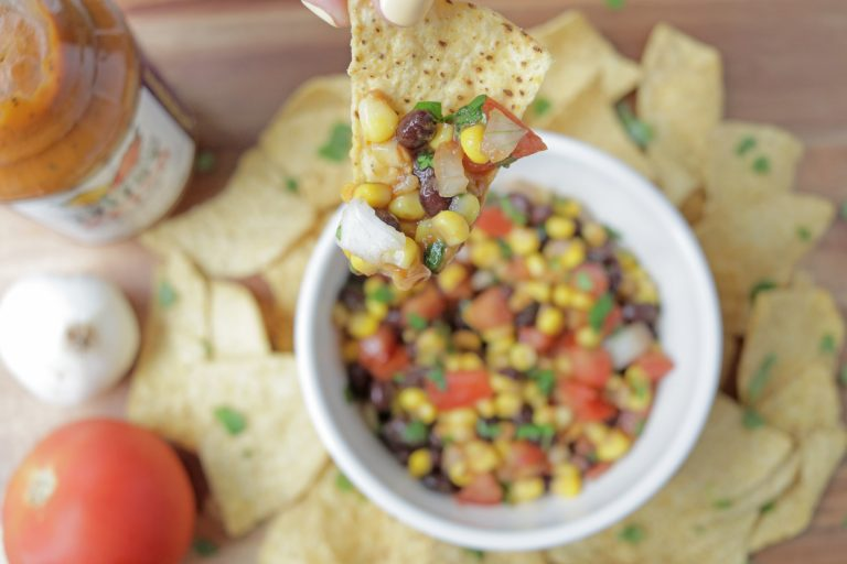 Mustketch Corn And Black Bean Salsa